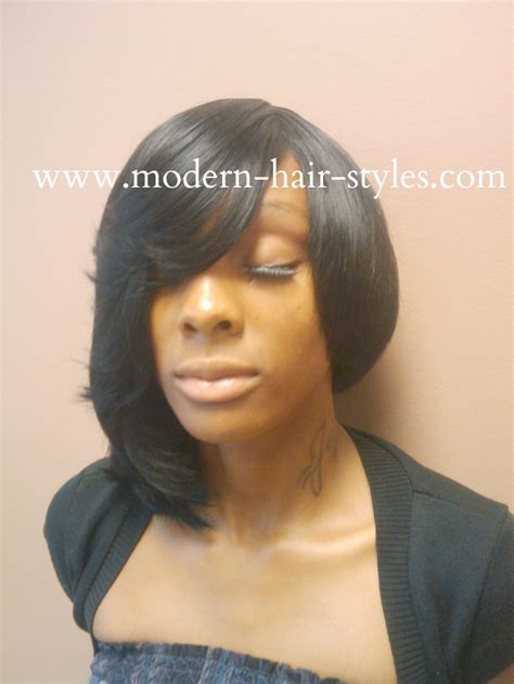 short feather bump hairstyles for black women black women short hairstyles pixies quick weaves 27