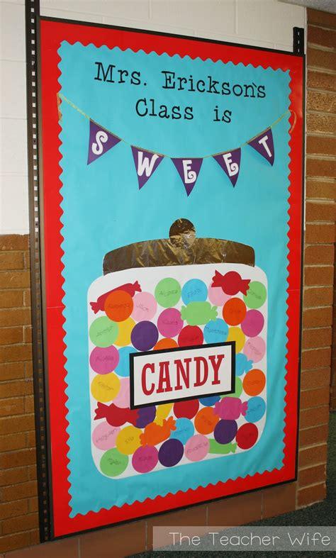 bulletin board decorations the my class is sweet b2s bulletin board idea