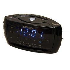 emerson cks3526 smartset projection clock radio with dual alarms black projection alarm