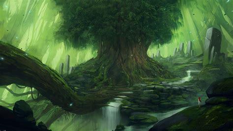 wallpaper 4k fantasy fantasy forest backgrounds 4k download