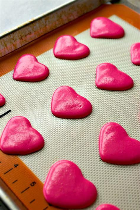 raspberry macaron hearts cpa certified pastry aficionado