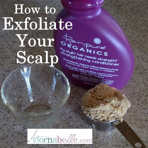 Sugar Detox Itching by How To Exfoliate Your Scalp