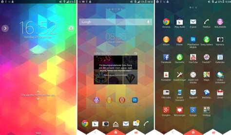 sony themes apps sony brings xperia themes to android 4 3 or higher