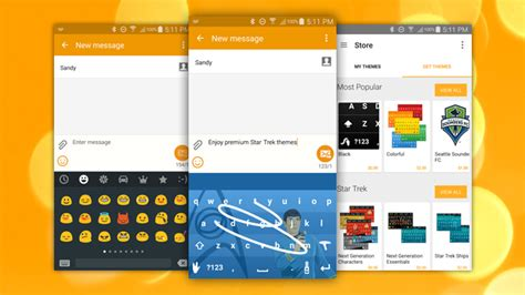 themes for swype keyboard swype update adds custom themes emoji keyboard and more