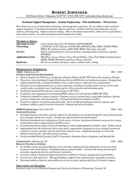 Sle Resume For Technical Support Fresher desktop support active directory resume customer sle