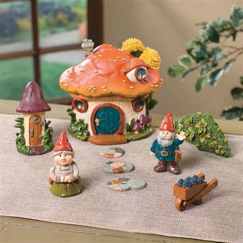 oriental trading home decor gnome village decorative accessories home decor terry