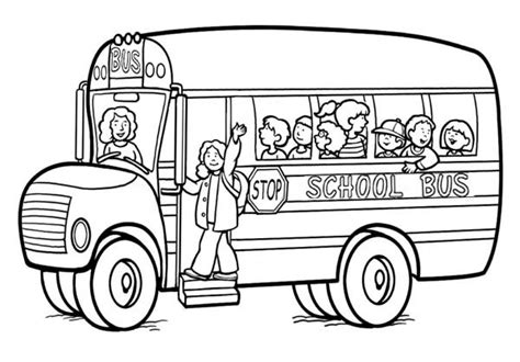 color of school buses school coloring pages getcoloringpages