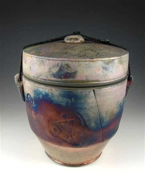 Handcrafted Urns - 17 best images about handcrafted raku style urns on