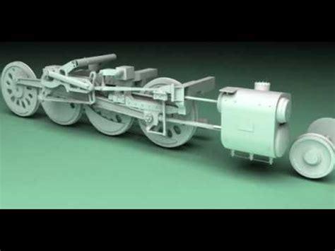 big boy  steam engine animation youtube