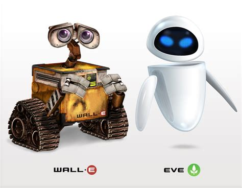 film robot wali wall e and eve icons by flarup on deviantart