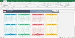 Calendar 2018 Template Excel Excel Calendar Templates Free Printable Excel