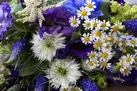 wedding bouquet blue blue bridal bouquets