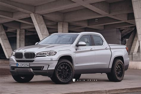 what if bmw x5 truck rendering