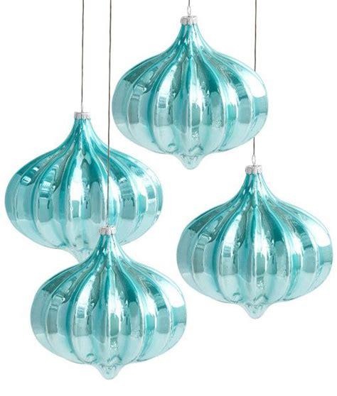 fifty shades xmas tree ornaments blue urchin ornament set fifty shades of turquoise ornaments and blue