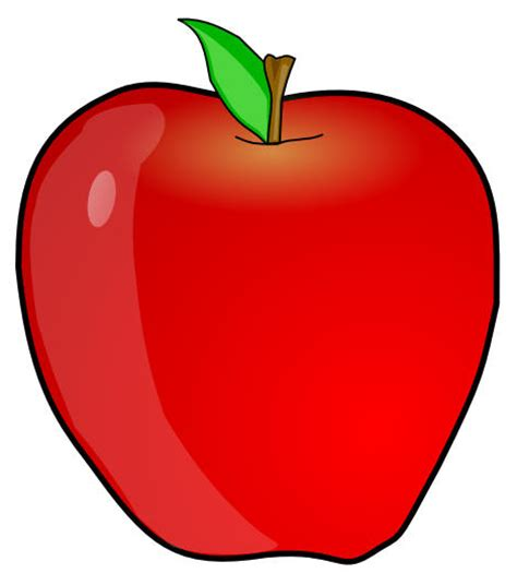 clip apple abc single letters aa bb cc