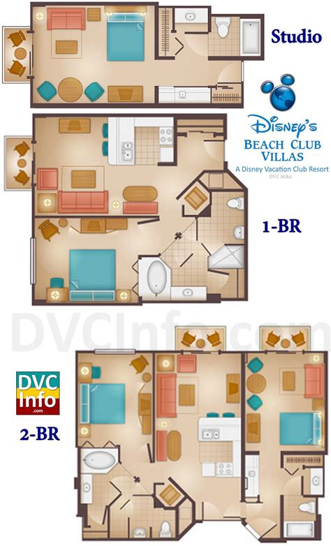 disney floor plan disney s club villas dvcinfo