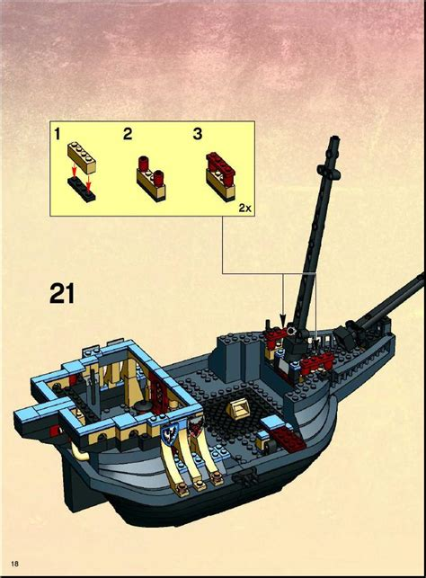 Lego Brick Wange Ship 040330 lego the durmstrang ship 4768 harry potter