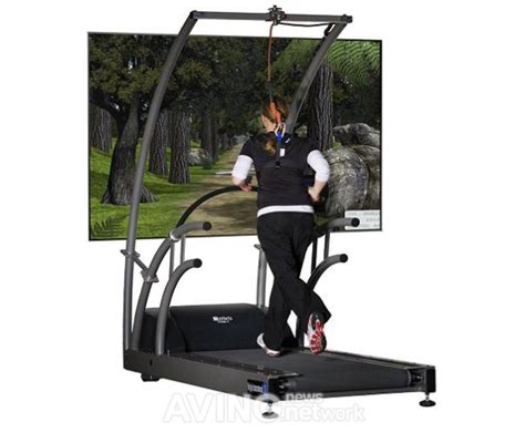 how to a to run on a treadmill this treadmill gives you a lush landscape to run through without leaving home