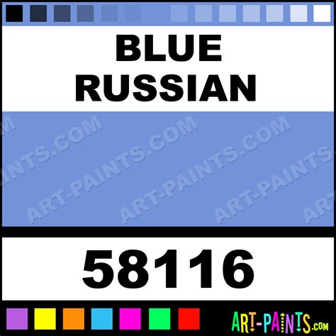 blue russian st petersburg artists watercolor paints 58116 blue russian paint blue russian