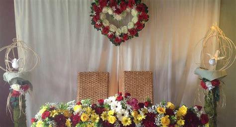Wedding Backdrop Design Philippines by Flower Arrangement In Manila Style By Modernstork