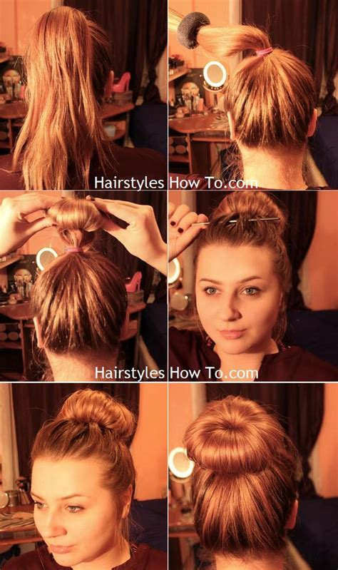 messy bun without shaved side showing hair tutorials hairstyles how to
