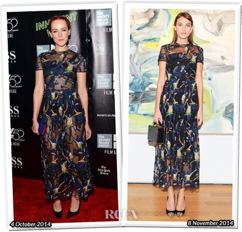 Who Wore Better Carpet Style Awards by Who Wore Valentino Better Jena Malone Or Chung