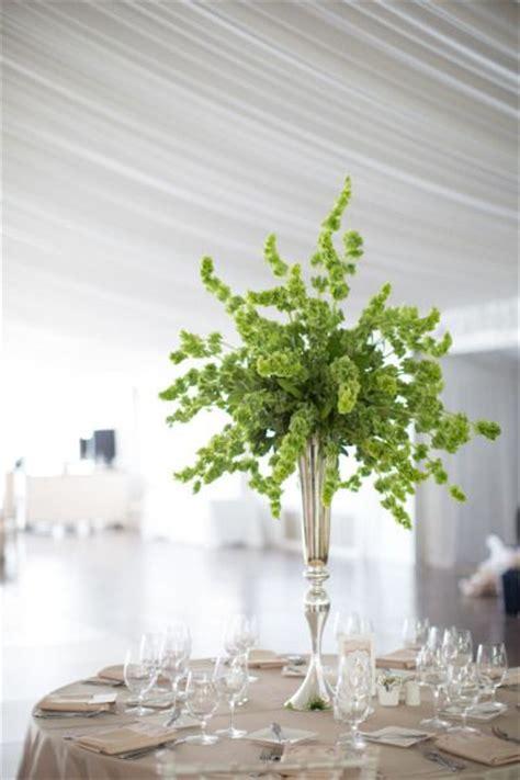 Wedding Album Leaf by Turn A New Leaf Chic Green Centerpieces For