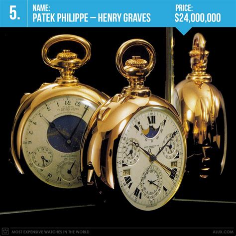 most expensive watches in the world 2017 ranked on price