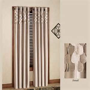 curtain grommets lulu semi sheer grommet curtain panels