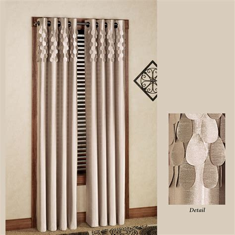 curtains grommets lulu semi sheer grommet curtain panels