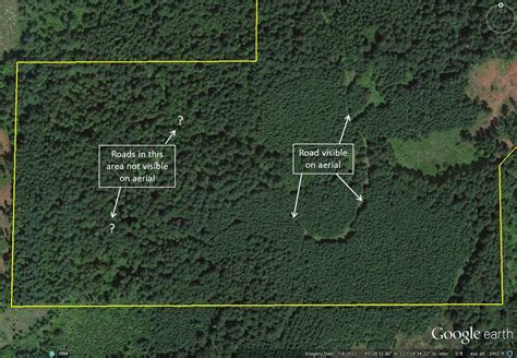 section lines on google earth mapping your forest with google earth and a gps phone app