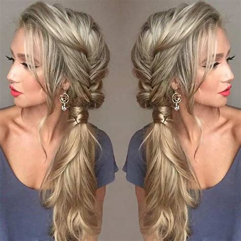 21 pretty side swept hairstyles for prom jewe