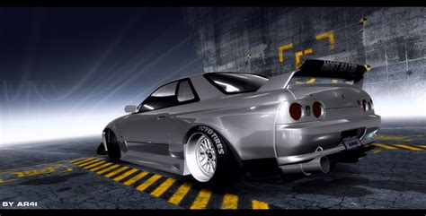 speed pro street nissan skyline  gtr nfscars