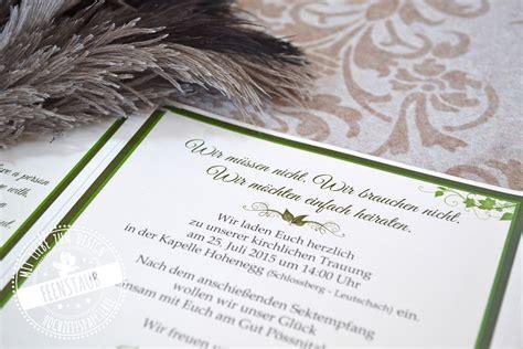 Hochzeitseinladung Nur Sektempfang by Hochzeitseinladungen Texte Textvorlagen Textbausteine