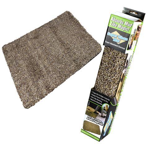Magic Doormat by Absorbent Door Mat Microfibre Clean Step