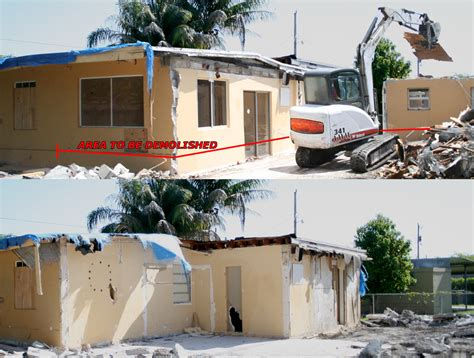 buying a house with no permit addition miami general contractor gallery 187 blog archive 187 demolition of illegal home addition