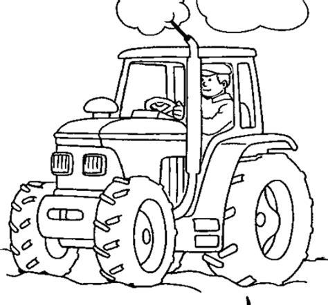 easy tractor coloring page ausmalbilder von traktor ausdrucken malvorlagen kostenlos