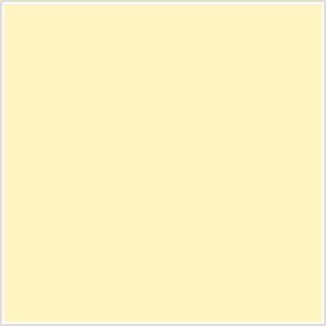 fff5c3 hex color rgb 255 245 195 egg white yellow