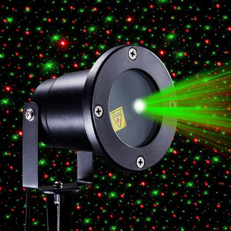 Red And Green Firefly Laser Light Sparkling Star Projector Laser Lights For Outdoors