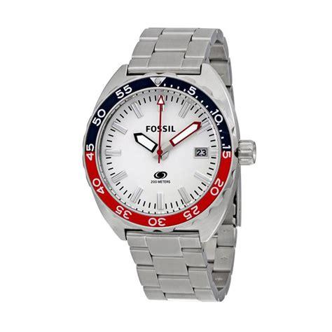 Jam Tangan 007 A jual fossil breaker stainless steel jam tangan pria