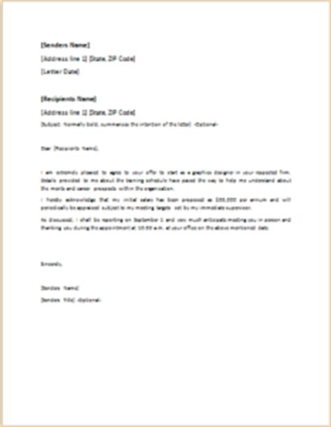 Official Letter Offer 40 Official Letter Templates For Everyone Templateinn