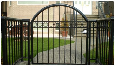 family home distinctive and stylish security fence