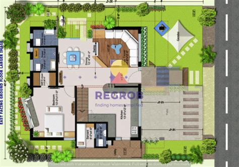 villa ground layout sark garden villas mokila hyderabad price floor plans