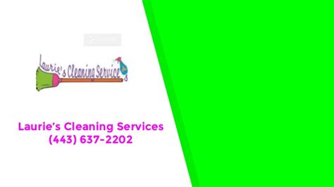 Mba Cleaning Services by Lauries Cleaning Services Pasadena Md