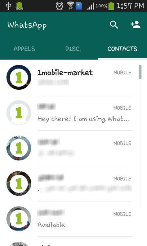 telecharger themes whatsapp telecharger whatsapp android apk gratuit 1mobile market