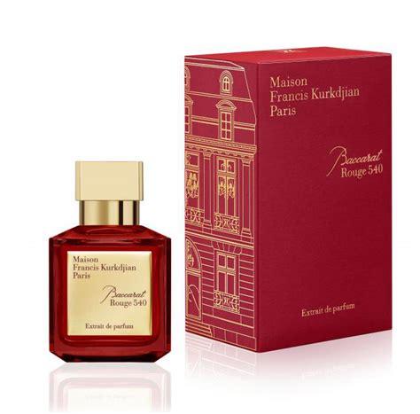 Parfum Baccarat baccarat 540 extrait de parfum maison francis