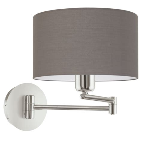 eglo pasteri wall light this is a 1 light wall light complete with a matt