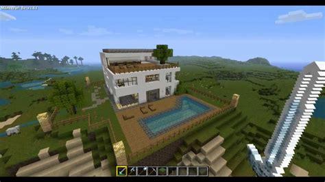 Minecraft House Tour by Minecraft 1 8 Modern House Tour Hd New