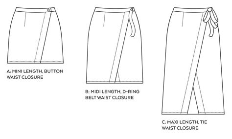 pattern and pattern making pdf pattern launch nita wrap skirt sew diy