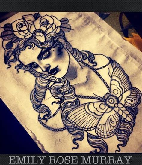 emily rose murray tattoos artwork by emily murray